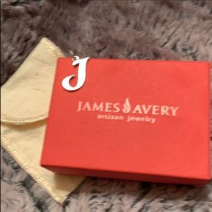 James Avery Medium J charm